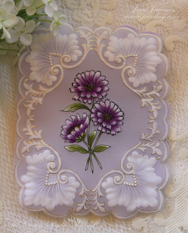 A Touch Of Grace Parchment Mothers Day Card