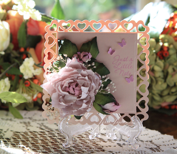 a touch of grace  u00bb pink note card
