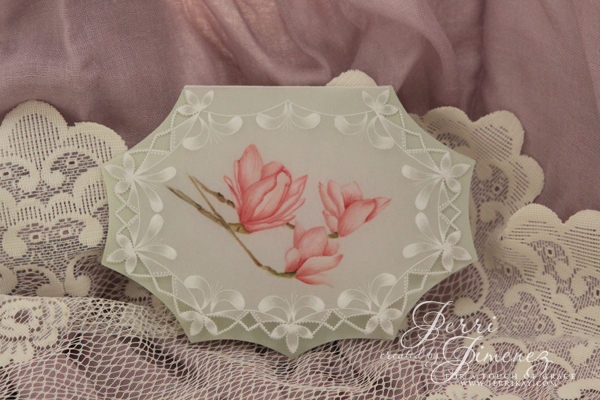 Art of Nature - Magnolia Card 019 copy