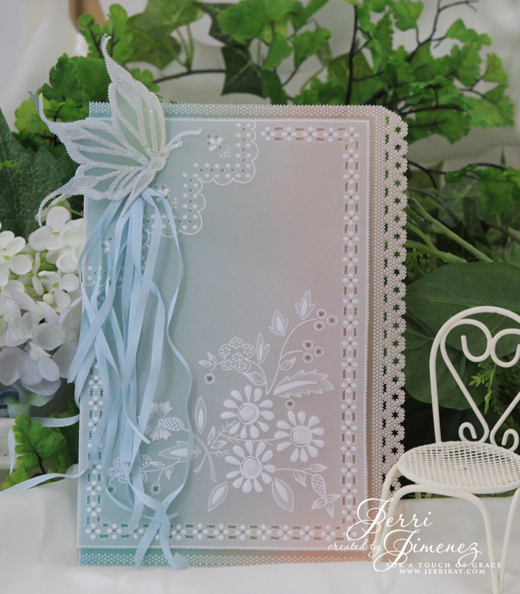 A Touch Of Grace Whitework Parchment